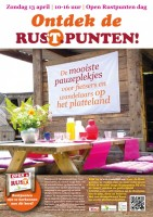 Zondag 13 april : open dag bij de Rustpunten in Laag Holland (prov. Noord-Holland)
