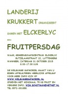 Fruitpersdag in Luttenberg