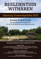 OPENING ZOMEREXPOSITIE - BEELDENTUIN WITHAREN