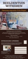Opening expositie Frits Roger