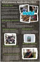 WILD nieuws, herfsteditie 2013
