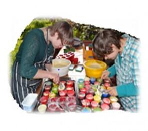 Jubileum viering tijdens open tuin weekend In Goede Aarde